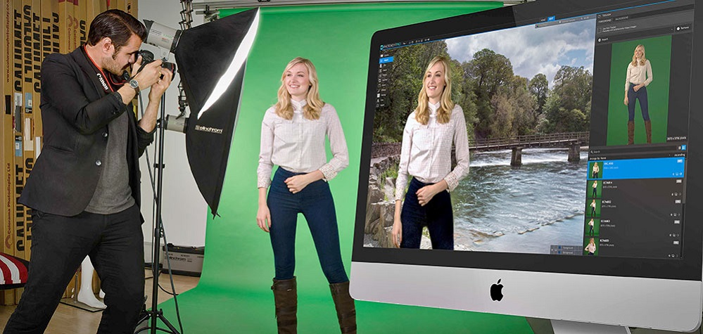 green screen photography